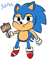 Daily Pic 17 Classic Sonic by jonathann10
