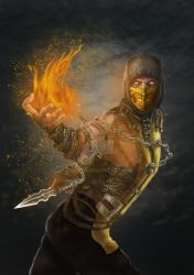 Scorpion Comission by fvocero