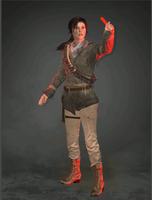 Lara Croft (Remnant Jacket) by CombatClone