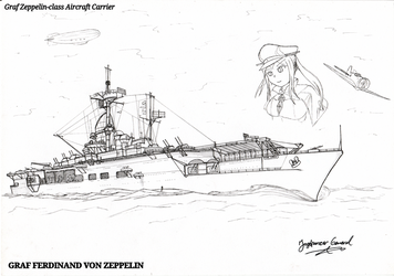 Aircraft Carrier Graf Zeppelin by StubbornEmil