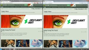 deviantART old topbar FIX by Nidrax