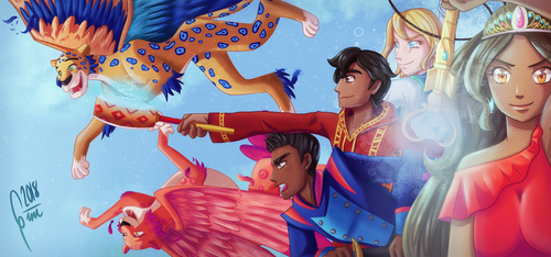 Elena of Avalor tribute by Gini-Gini
