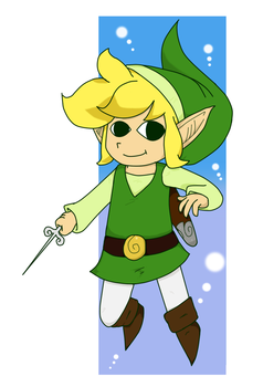 Toon Link by Tikal11