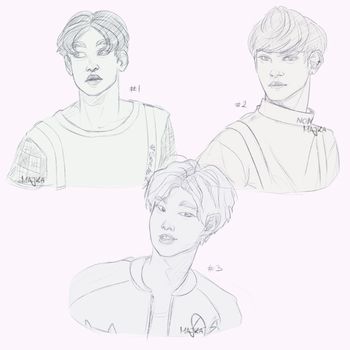 SEVENTEEN | Doodles by My-Kee