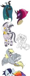 Here's Another MLP Sketchdump by Celestial-Rainstorm
