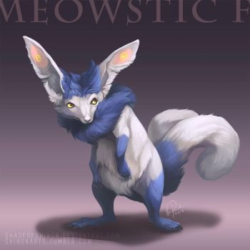 Type Collab: Meowstic F by ShadeofShinon