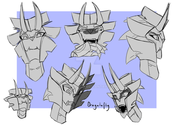 Neigemus Quick Emotes by Dragalafly