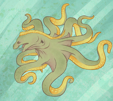 Moray Octopus by FigBeater