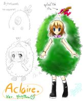 Aclaire : Durian Costume by BossRover
