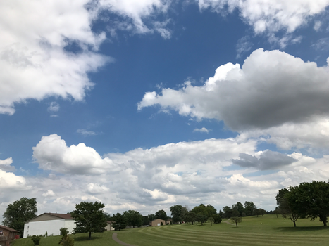 BT GC Clouds Over the Course IMG 1983 by TheStockWarehouse