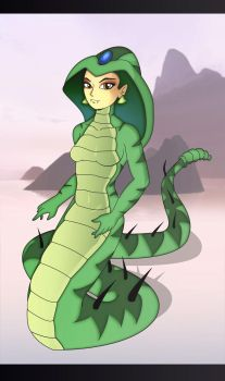 Serpent Jasmine by Cartoon-ATF-Club