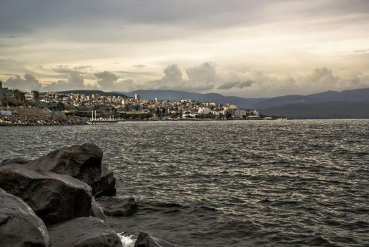 Clouds on Tveria by ShlomitMessica