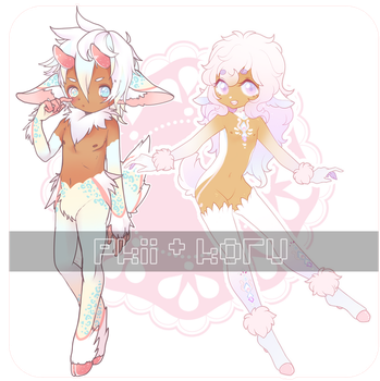 pretty satyrs // collab w pkii!! by Koru-ru