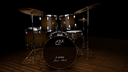 Simulated Drumkit by Modern-Art-And-War