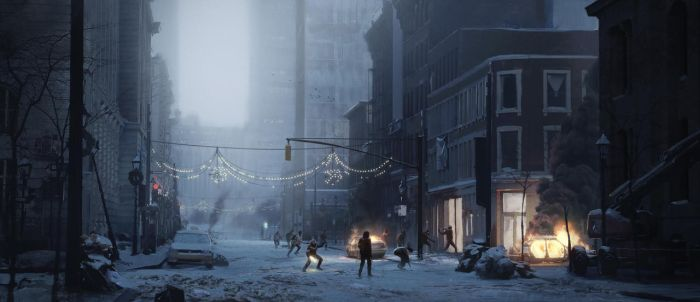The Division Cinematic Trailer by JeremyPaillotin