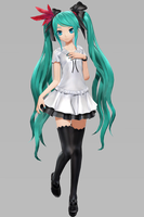 PDX PS4 Styled Supreme Miku DL  [NO DOWNLOAD] by XxJrhalcrow45xX