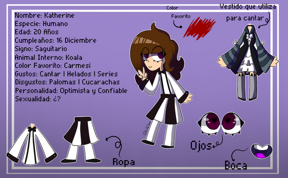 -=Oc's Family: Katherine 2.0=- by XxKitsuChanxX
