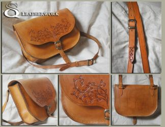 leather bag by SqLeatherwork