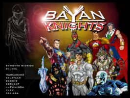 Wall paper BAYAN KNIGHTS 1 by Mykemanila