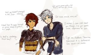 Hiccup + Jack - Is that a challenge? by Ciear