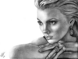 Jessica Stam by devilmouse