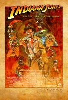 Indiana Jones and the Temple Of Doom by markmchaley