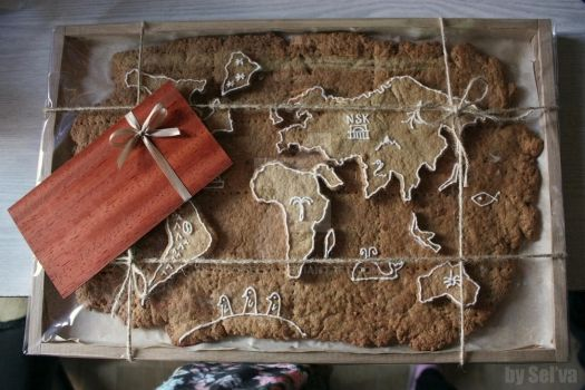 Gingerbread map