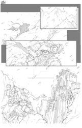 DOMINION'S LIGHT PAGE ONE by BrandonEaston2009