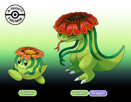 (023 - 024) Pumbloom - Snapum by InProgressPokemon