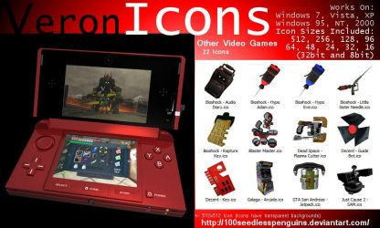 VIcons - Other Video Games by 100SeedlessPenguins
