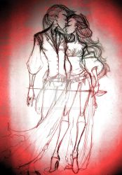 Til Death Do You Part Sketch by Asher-Bee