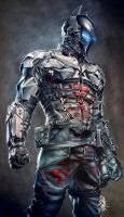 Arkham Knight Fanart by thefrenchberet