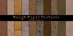 Rough Paper Patterns by Pickled-Jester-Inc