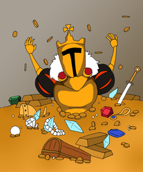 KING KNIGHT by that-one-guy-again