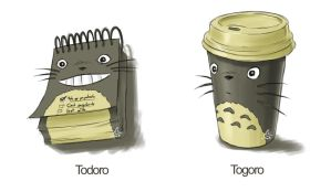 Todoro and Togoro by Tobsen85