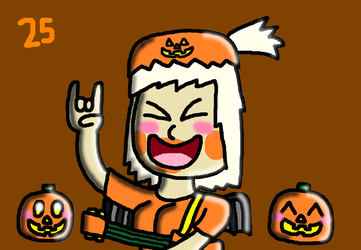 31 days of Halloween 2018 - day 25 by SprixieFan12345