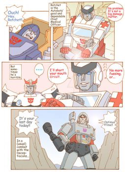 TF: The Autobots' Medical Officer 1/2 by megamidori