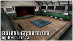 [MMD] Ruined Gymnasium stage (PMX Download) by Riveda1972