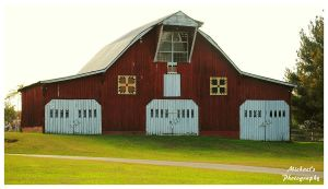 Center Grove Quilt Trail Barn by TheMan268