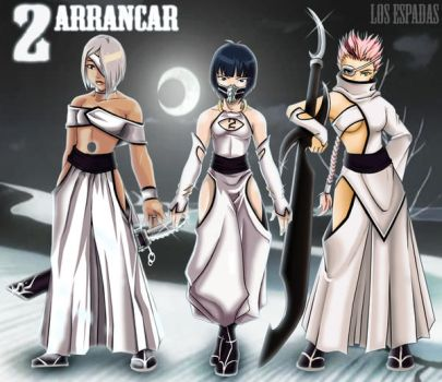 Arrancars -Number 2 Group OCs by Darkness1999th