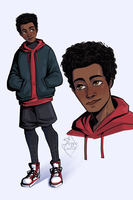 Miles Morales  (Spider-Man) by SteppeCrow