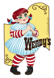 Wendy's (normal version) by P3numbr4