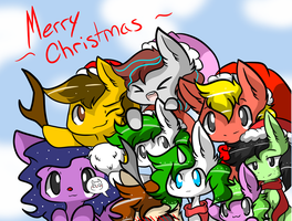 Christmas Card by Myumimon
