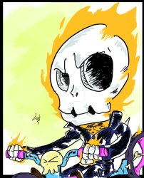 Ghost Rider - Doodle by Lostiousness