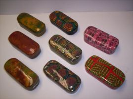 Polymer Clay Tins by Saint-Angel