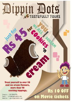 Ice cReam Poster by ABIFRIEND