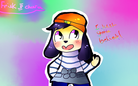 Parappa The Rapper- by JustFriskxX