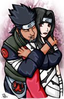 Asuma+Kurenai: Hug from Behind by AsumaxKurenai