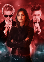Just the Doctor and Clara Oswald by Esterath13