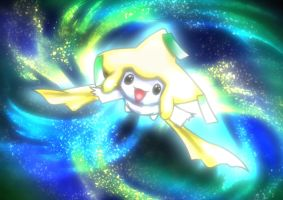 digital : pokemon Jirachi 02 2014